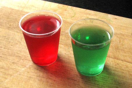 Zwei Jello-Shots