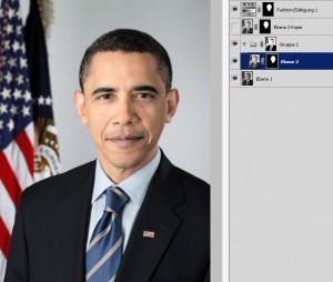 Der erste weiße Präsident!