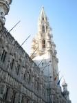 Das Rathaus. Auch hier ist die Architektur wenig bescheiden ausgefallen ;)